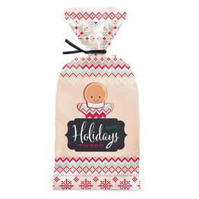Wilton Christmas Holiday Sweet Swap Party Bags, 20-Ct.