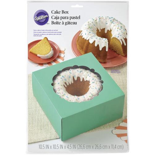 Mint Green Cake Box
