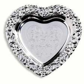 Heart Silver Trays