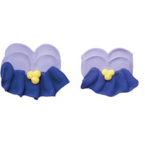 Pre-made Royal Icing Pansy