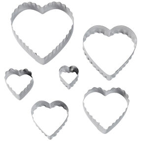 Wilton Heart Fondant Double Cut-Outs Set 417-2588