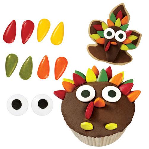 Turkey Cookie Decorating Kit