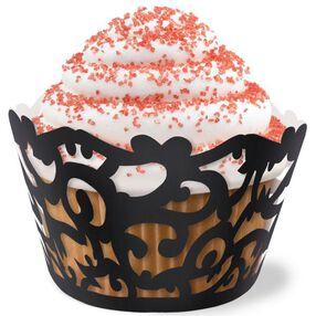 Elegant Vampire Cupcake Wraps