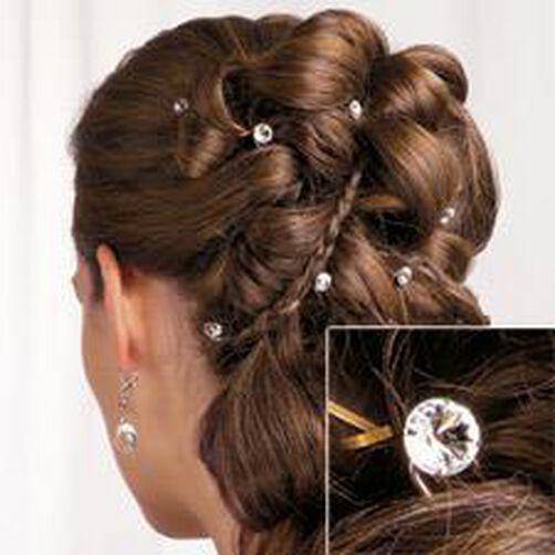 Rhinestone Hair Picks