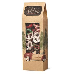 Wilton Christmas Holiday Sweet Swap Pretzel Treat Bags, 3-Ct.