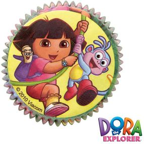 Dora the Explorer Baking Cups