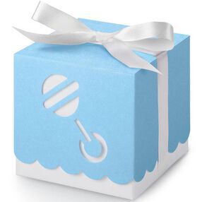 Blue Rattle Box