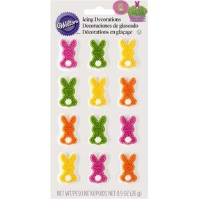 Easter Bunny Tail Icing Decorations
