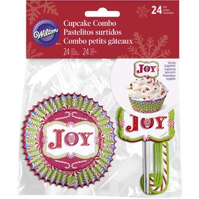 Wilton Holiday Joy Cupcake Decorating Kit