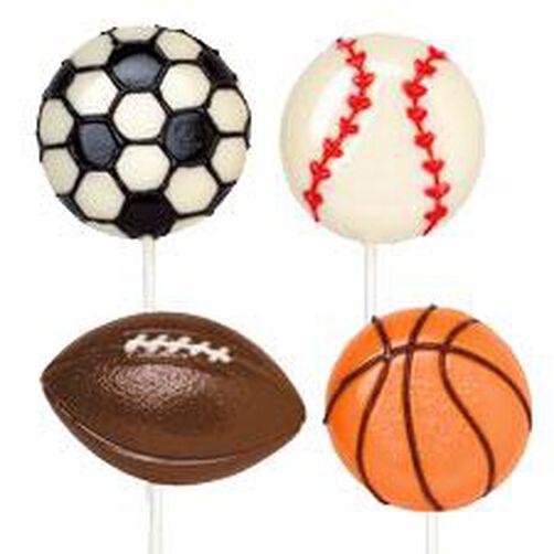 Sports Large Lollipop Mold