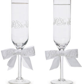 I Do Wedding Day Collection Toasting Glasses