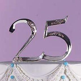 Silver 25th Anniversary Pick