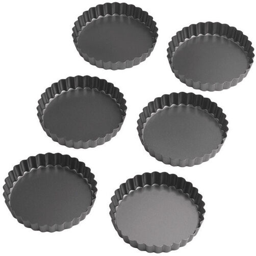 Perfect Results 4 in. Round Tart/Quiche Pan Set