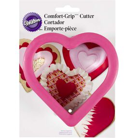 Comfort Grip Heart Cookie Cutter