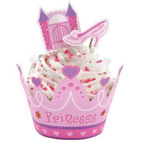 Princess Cupcake Wraps' n Pix