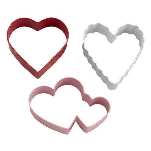 Wilton Heart Cookie Cutter Set, 3-Pc.