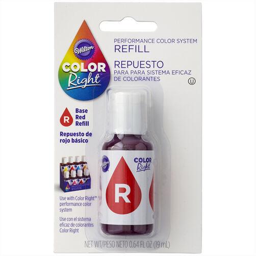 Wilton Color Right Red Base Color Refill