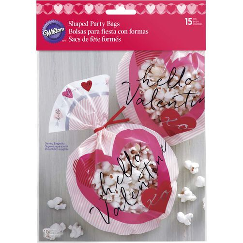 Hello Valentine Treat Bags