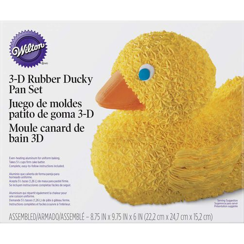 3d Rubber Duck Cake Pan Wilton