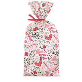 Wilton Valentine?s Day Doodles Party Bags, 20-Ct.