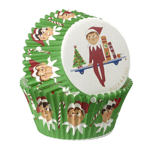 The Elf on the Shelf® Baking Cups, 50-Ct.