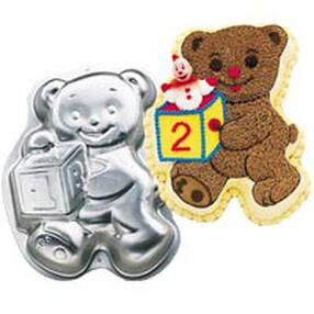 Teddy Bear With Block Pan
