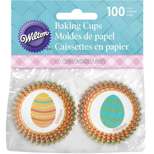 Easter Egg Mini Cupcake Liners