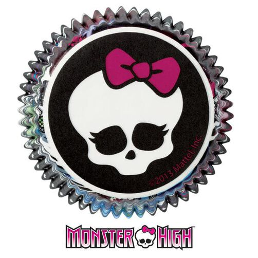 Monster High Cupcake Liners