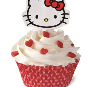 Wilton Hello Kitty® Cupcake Decorating Kit, 24-Count