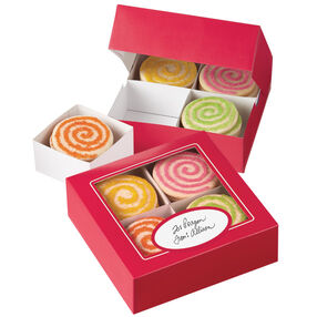 Red Cookie Sampler Box Kit