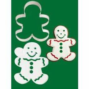 Gingerbread Boy Stencil-A-Cookie
