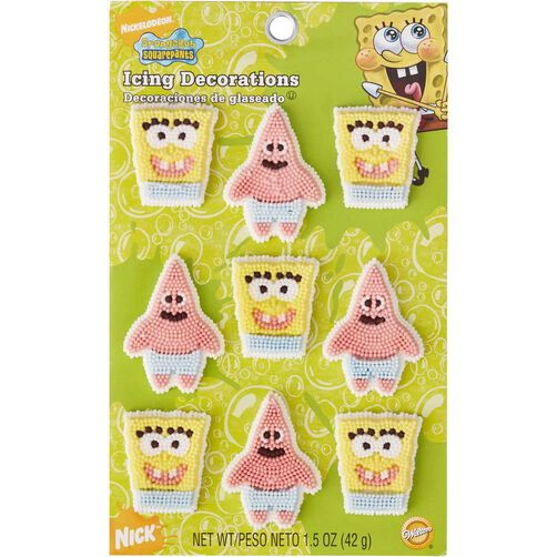 Wilton Sponge Bob Square Pants Candy Decorations