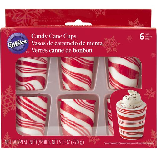 Candy Cane Cups