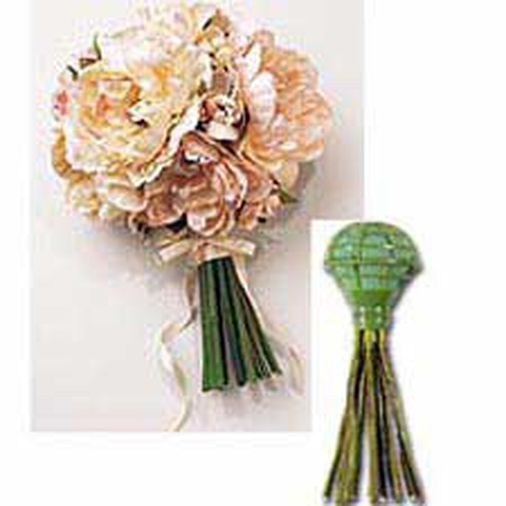 Wedding Bouquet Holder For Silk Flowers: Actual touch artificial ...