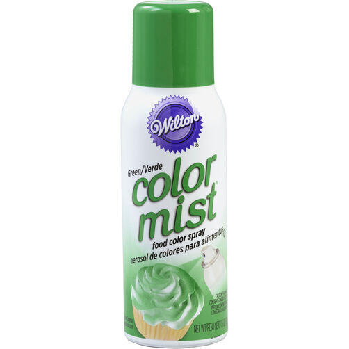 Color Mist Green Food Coloring Spray
