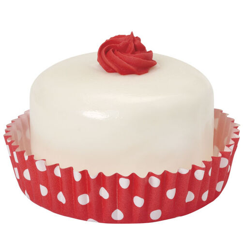 Red Polka Dots Round Treat Cups