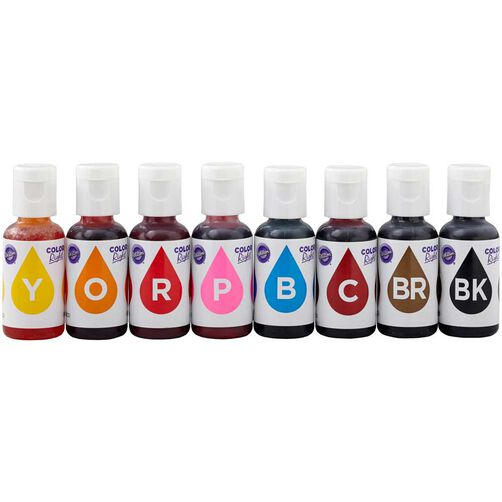 color right food coloring system - Colorant Wilton
