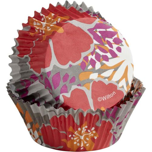 ColorCups Colorful Flowers Standard Baking Cups