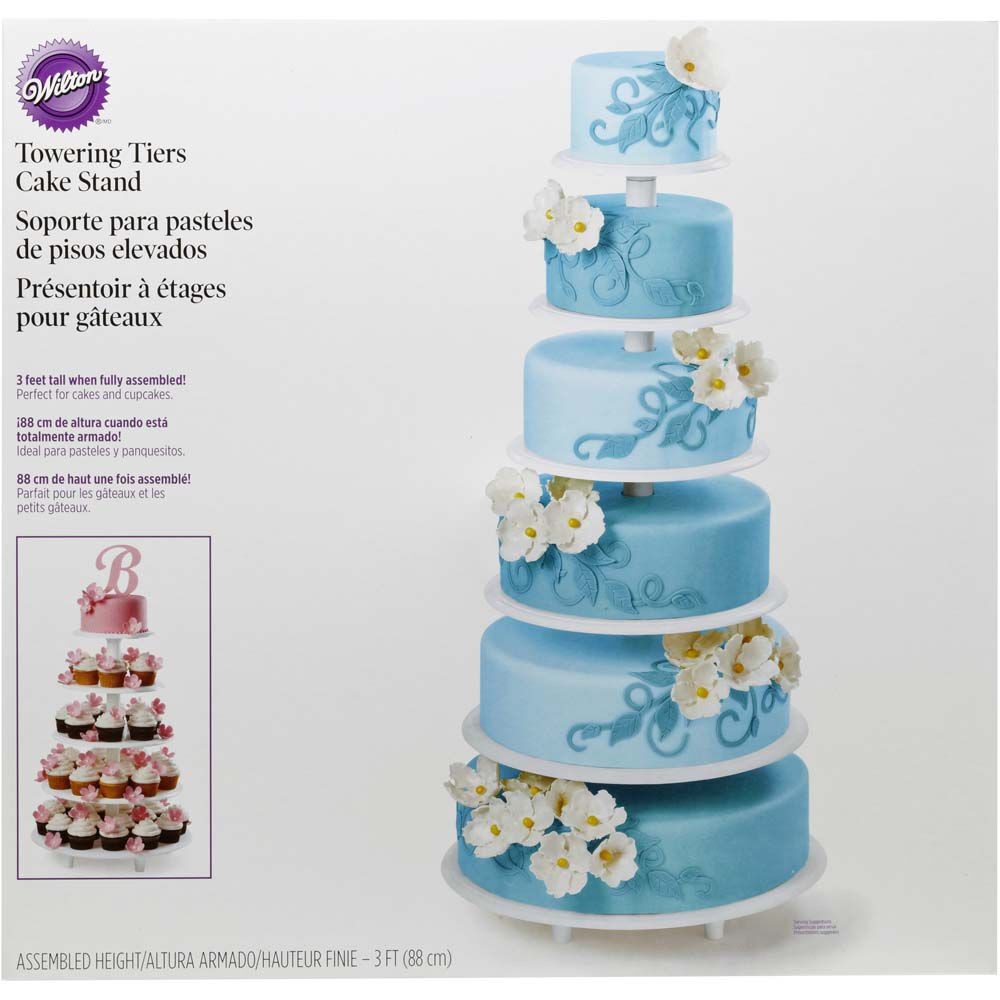 Michaels Cake Decorating Equipment : Towering Tiers Cake Stand Wilton