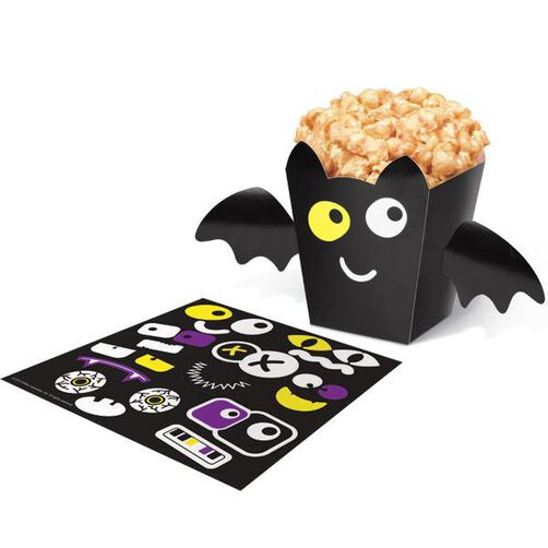 Decorate Your Own Spooky Pop Bag Treat Boxes