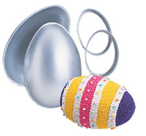 3-D Egg Pan Set