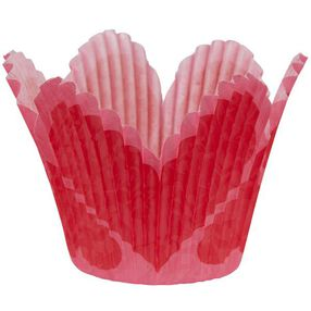 Petal Hearts Baking Cups