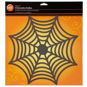 Spiderweb 12 in. Doilies