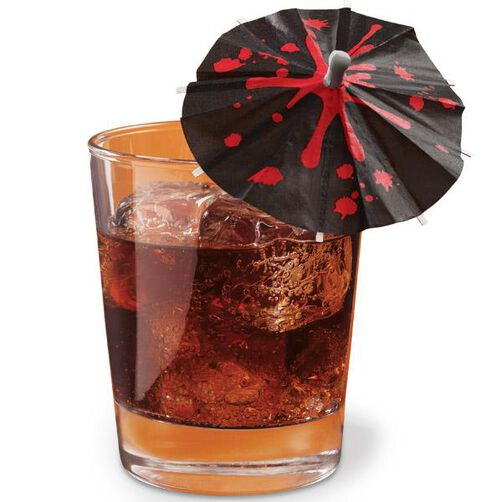 Blood Drips Drink Parasol