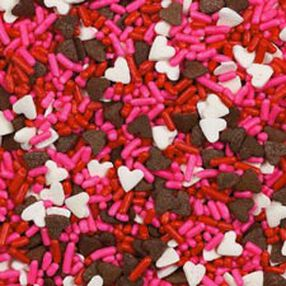 Chocolate Hearts Sprinkles