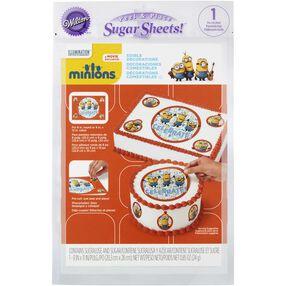Minions Edible Images Cake Decorating Kit