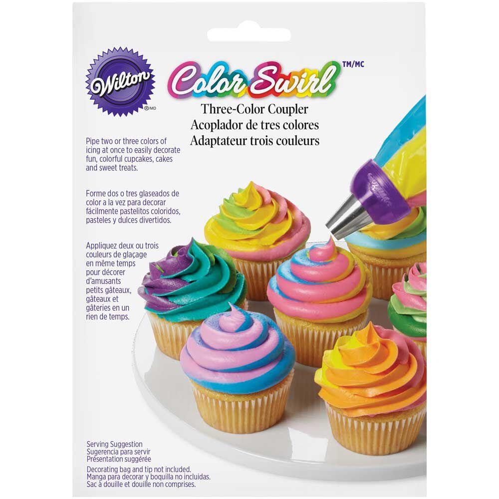 Wilton Cake Decorating Kit Kijiji : ColorSwirl 3-Color Coupler Wilton