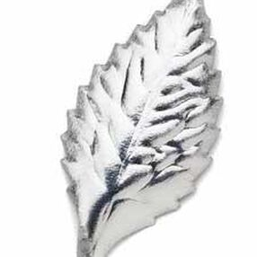 1 1/4 in. Wide Silver Artificial Leaves