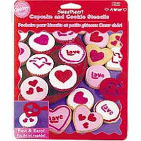 Sweetheart Cupcake & Cookie Stencils