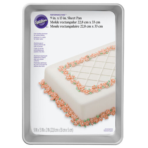 Performance Pans 9x13 Sheet Cake Pan Wilton